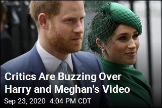 Critics Are Buzzing Over Harry and Meghan's Video