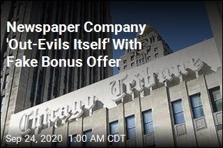 Reporters Get Fake Bonus Offer From Their Own Boss