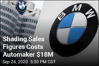 BMW to Pay $18M Fine Over Inflated Sales Totals