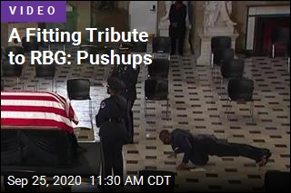 A Fitting Tribute to RBG: Pushups
