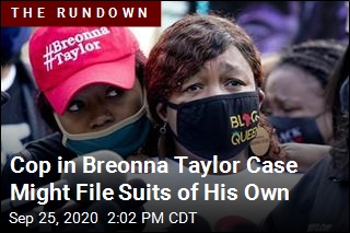Cop in Breonna Taylor Case Might File Suits of His Own