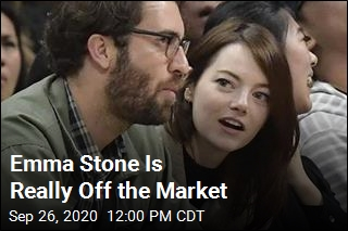 Emma Stone Is Really Off the Market