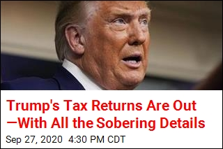 The Times Has 20 Years of Trump's Tax Returns