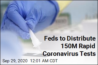 Feds to Distribute 150M Rapid Coronavirus Tests