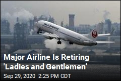 Japan Airlines Drops 'Ladies and Gentlemen'
