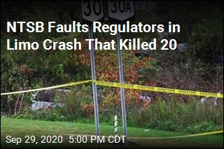 NTSB Faults Regulators in Limo Crash That Killed 20