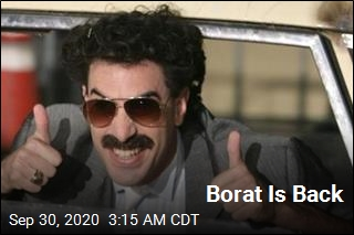 Borat Is Back