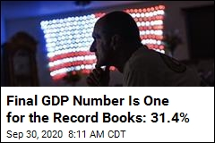 Q2 GDP Drop Is 3 Times Worse Than Worst on Record