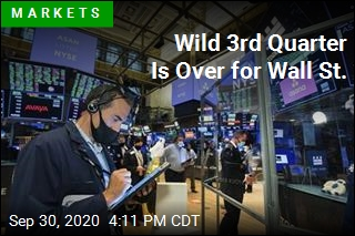 Bumpy Day Closes Out Wild Quarter for Wall St.