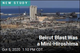 Beirut Explosion One of Biggest Non-Nuclear Blasts Ever