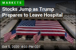 Stocks Jump as Trump Prepares to Leave Hospital