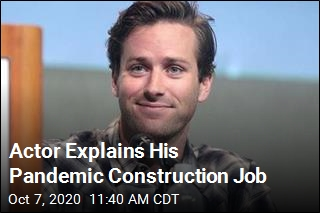 Actor Explains His Pandemic Construction Job