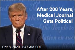 New England Journal of Medicine : Vote Trump Out