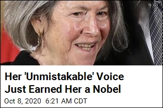 US Poet Louise Glueck Wins Nobel for Literature