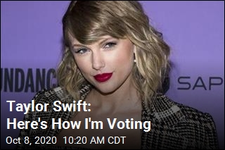 Taylor Swift: Here's How I'm Voting