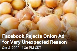 Facebook Rejects Onion Ad for Very Unexpected Reason