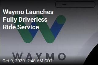 Waymo Launches Fully Driverless Ride Service