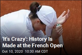 History Is Made at the French Open