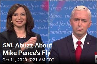 SNL Buzzes About Mike Pence's Fly