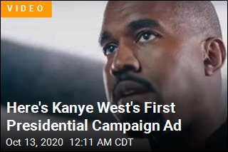 Here's Kanye West's First Presidential Campaign Ad