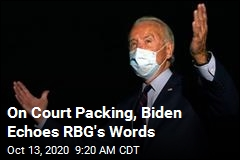 Biden Finally Gives His Take on Court Packing