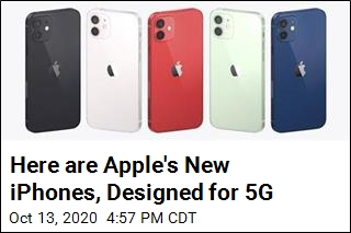 Apple Pulls Curtain Back on New iPhones for 5G