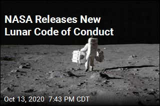 New NASA Rules: No Fighting, Littering on the Moon