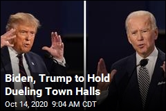 Biden, Trump to Hold Dueling Town Halls
