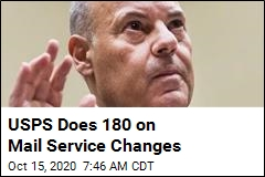 USPS Does 180 on Mail Service Changes