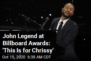 John Legend at Billboard Awards: 'This Is for Chrissy'