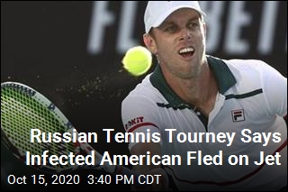 US Tennis Pro Allegedly Flees Russia After Positive Test
