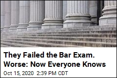 They Failed the Bar Exam. Worse: Now Everyone Knows