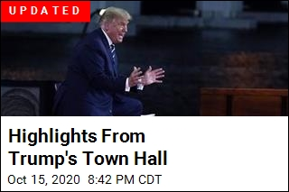 Highlights From Trump's Town Hall