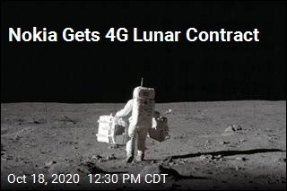 Nokia Gets 4G Lunar Contract