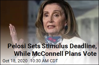 Pelosi, McConnell Set Their Own Stimulus Deadlines