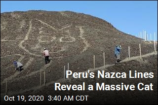 Peru's Nazca Lines Reveal a Massive Cat