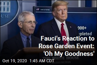 Was Fauci Surprised Trump Got COVID? 'Absolutely Not'