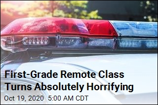 First-Grade Online Class Turns Absolutely Horrifying