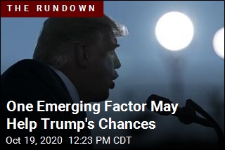 One Emerging Factor May Help Trump's Chances
