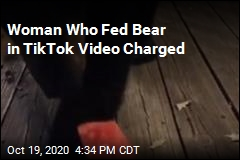 Woman Who Fed Bear in TikTok Video Charged