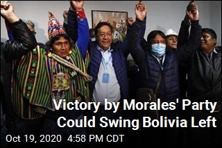 Victory by Morales' Party Could Swing Bolivia Left