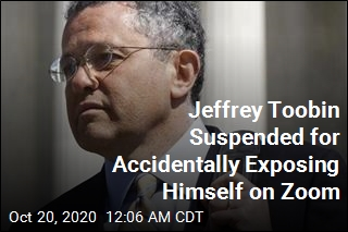 Jeffrey Toobin Suspended for Accidentally Exposing Himself on Zoom