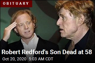 Robert Redford's Son Dead at 58