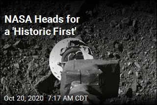 NASA Heads for a 'Historic First'