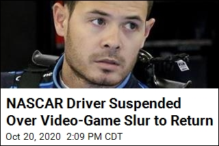 NASCAR Driver Suspended Over Video-Game Slur to Return