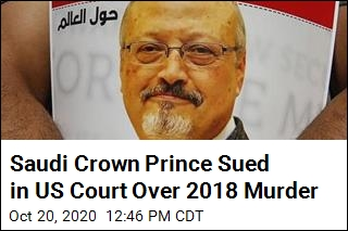 Khashoggi's Fiancee Sues Saudi Crown Prince in US Court