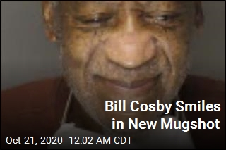 Bill Cosby Smiles in New Mugshot
