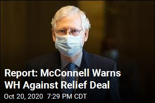 Report: McConnell Warns WH Against Relief Deal