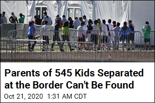 Parents of 545 Kids Separated at the Border Can't Be Found