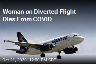Woman Dies From COVID on Flight to Texas